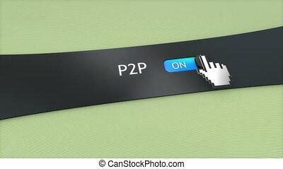 Application setting P2P.