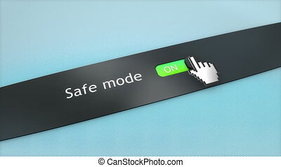 Application setting Safe mode