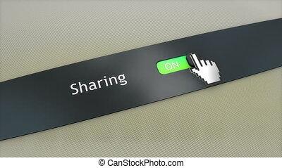 Application setting Sharing