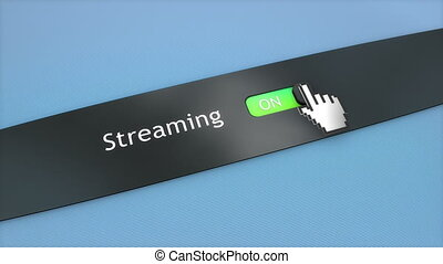 Application setting Streaming