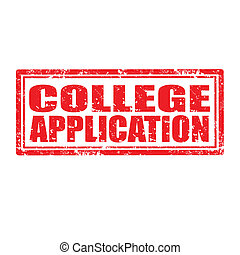 application-stamp, universiteit