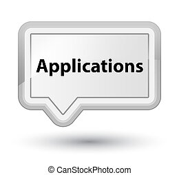 Applications prime white banner button