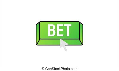 Apply now. Arrow, cursor icon. Hand click. Online betting stock illustration