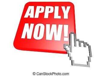 Apply now button with cursor