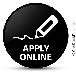 Apply online (edit pen icon) black round button