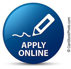Apply online (edit pen icon) blue round button