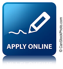 Apply online (edit pen icon) blue square button