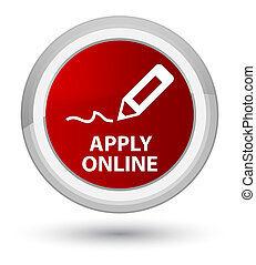 Apply online (edit pen icon) prime red round button