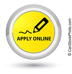 Apply online (edit pen icon) prime yellow round button