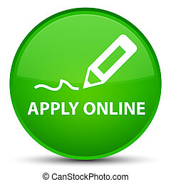 Apply online (edit pen icon) special green round button