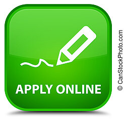 Apply online (edit pen icon) special green square button