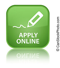 Apply online (edit pen icon) special soft green square button