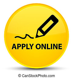 Apply online (edit pen icon) special yellow round button