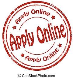 Apply Online-stamp