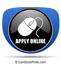 Apply online web icon
