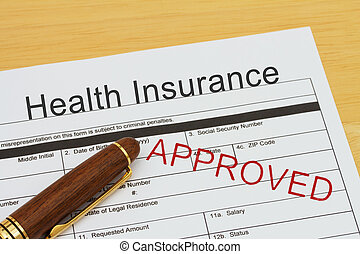 Applying for a Health Insurance Approved