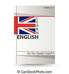 apprendre, couverture, anglaise