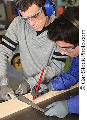 Apprentice joiner