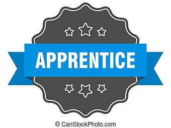 apprentice label. apprentice isolated seal. sticker. sign - ...