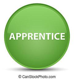 Apprentice special soft green round button