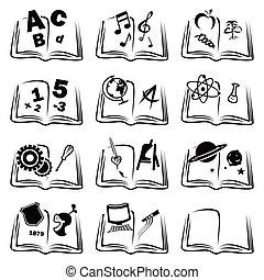 apprentissage, icônes