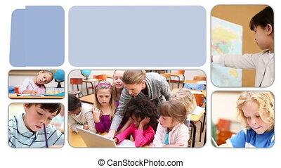 apprentissage, leur, sc, élèves, leçons