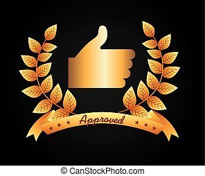 approbation, cachet