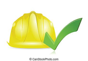 approve construction illustration