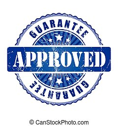 Approved  Guarantee Stamp.