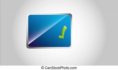 Approved icon design, video animation HD1080