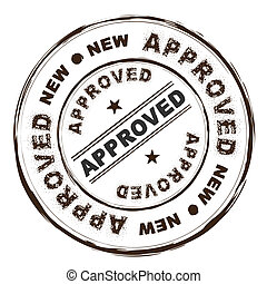 approved ink stamp