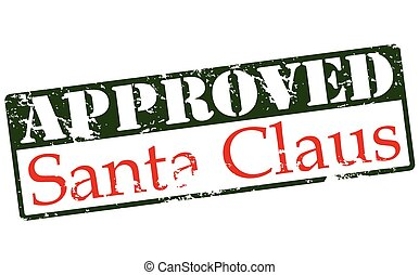 Approved Santa Claus