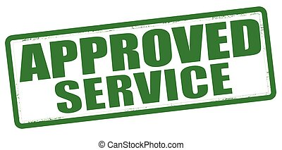 Approved service