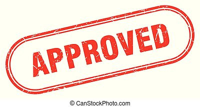 approved stamp. approved square grunge sign. approved