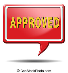 approved passed test and access granted approval and...