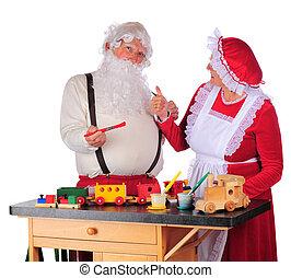 Approving Santa's Work