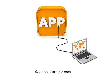apps, alambró