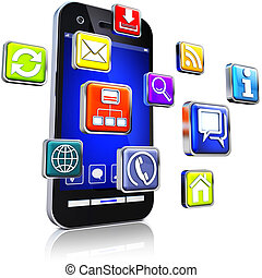 apps and smartphone