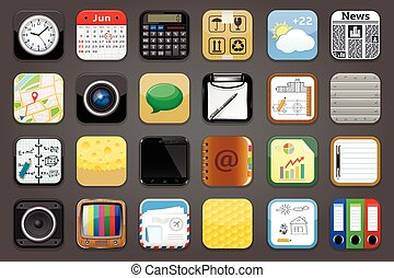 Apps Icons Set
