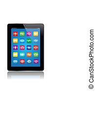 apps, tabuleta
