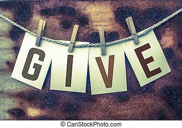 appuntato, cartelle, concetto, dare, ruggine
