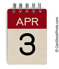 apr, 3, kalender