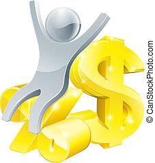 apr, pessoa, porcentagem, dólar, taxa