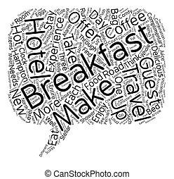 apreciar, conceito, viajantes, cima, wordcloud, fundo, texto, pequeno almoço, comer, estrada