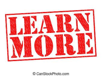 aprender, más