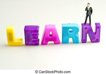 aprender, palabra