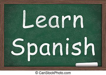 aprendizagem, espanhol