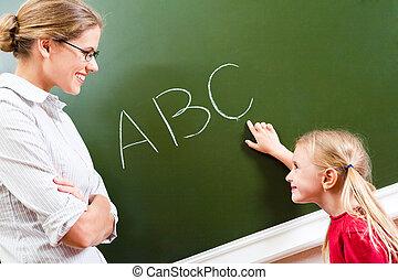 aprendizagem, letras