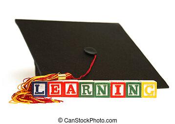 aprendizaje, a, lograr
