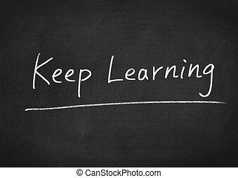aprendizaje, retener